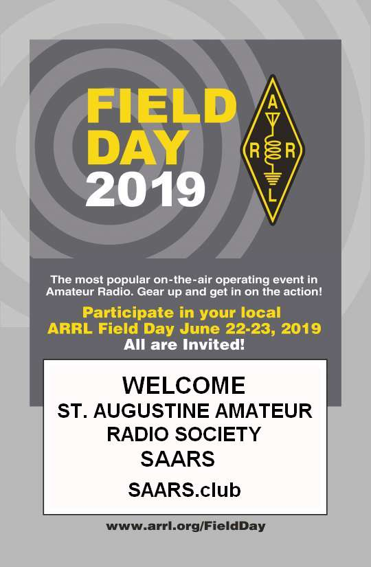 SAARS Field Day 2019